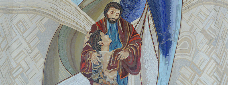 Mosaico Pai das Misericórdias